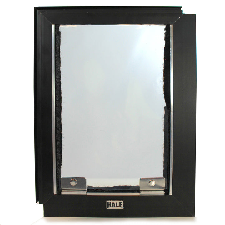 "Screen cat door - 5 ½"" x 7 ½"" flap."