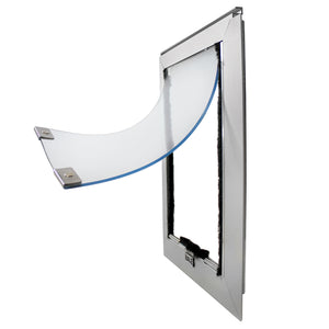 silver hale cat door for screens