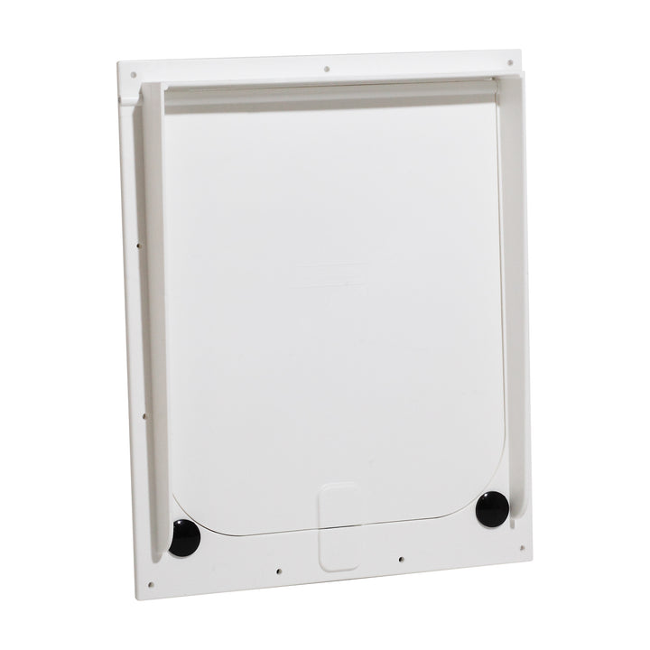 The Magnador Dog Doors for Doors & Kennels is available in sizes small to large