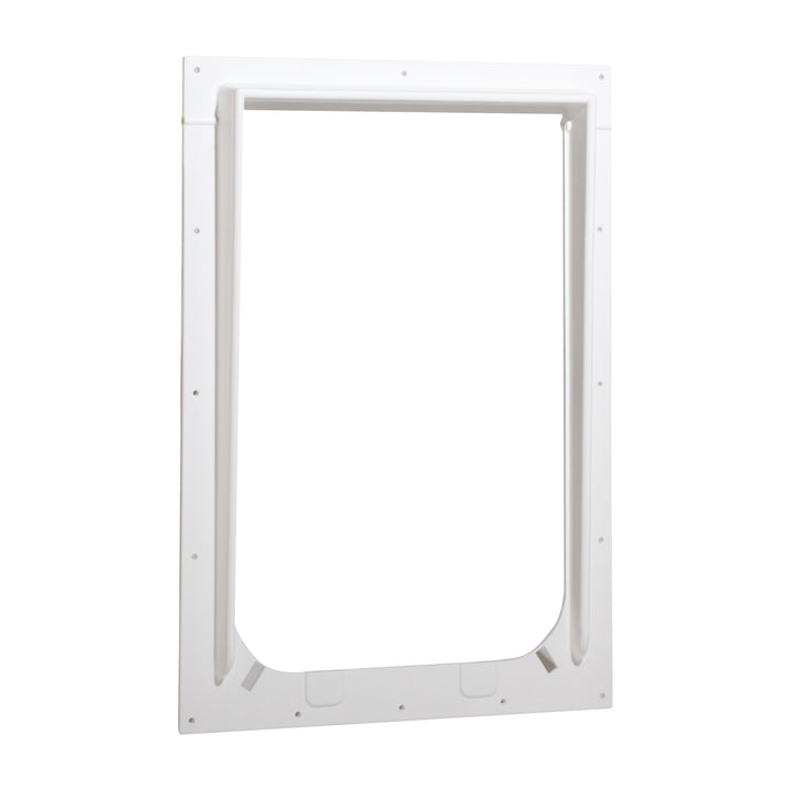 Magnador Pet Doors Outer Frame - Large, White - Magnador dog door parts