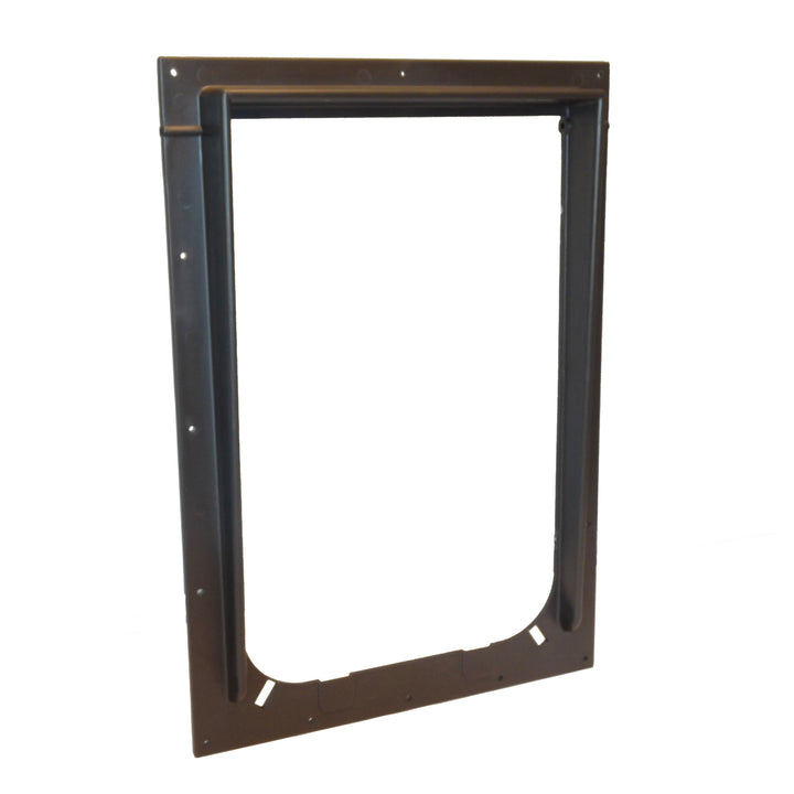 The Magnador Pet Door outer frame replacement in the color bronze