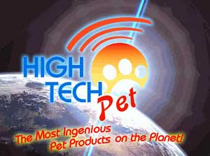 Graphic explaining that High Tech Pet products are the most ingenious pet products on the planet