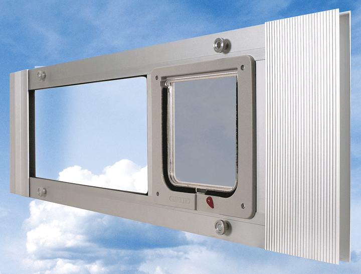 Installation Position for Ideal Cat Sash Door Side View