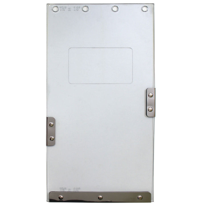 "The Ideal ""Insulator"" Pet Door replacement flap has magnetic lining to ensure maximum insulation value"