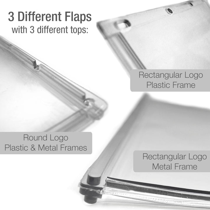 difference between round and rectangular ideal flaps