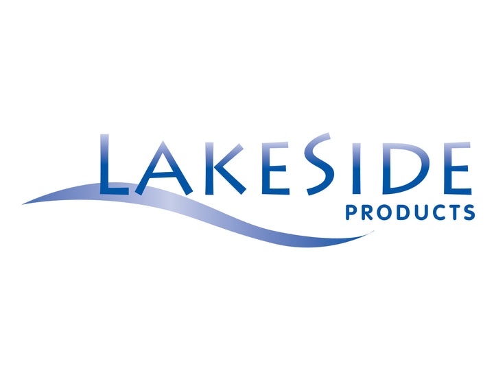 The logo for Lakeside Products, which specializes in economy-priced pet doors that are easily installed into doors, walls, kennels, and more