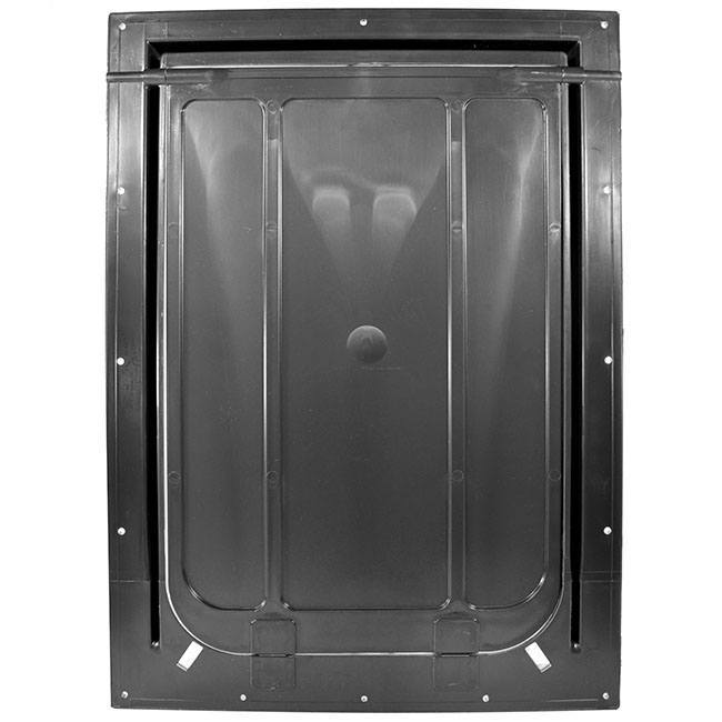 The Magnador Dog Doors for Doors & Kennels comes with a chew-resistant flap