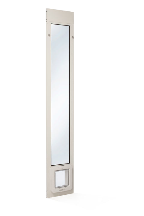 White Thermo Panel 2e with SureFlap Microchip Pet Door
