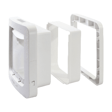 wall liners for microchip connect pet door