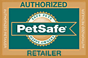 The seal for authorized retailers of Petsafe products