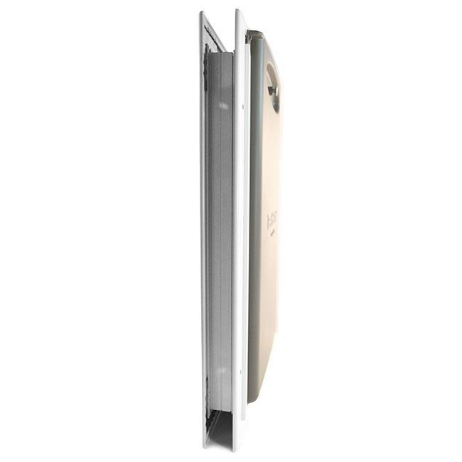 petsafe freedom aluminum pet door side view