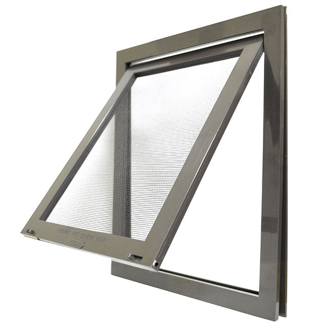 Petsafe Pet Screen door a high impact plastic frame.