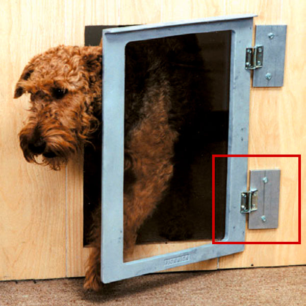 Mason dog kennel doors shims - dog kennel accessories