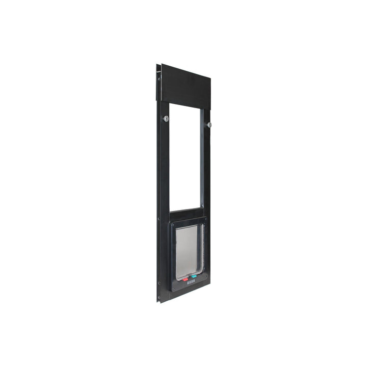 The Whiskers & Windows Cat Door for Horizontal Sliding Windows has a tools-free installation