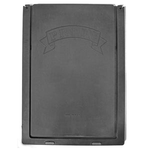 pride black rubber replacement flap front view