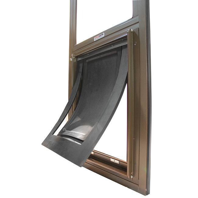 Pride Pet Door for sliding glass door has durable two-piece flap