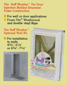 ideal ruff weather pet door manual