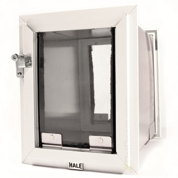 Small Hale kitty door - cat door for exterior and interior walls