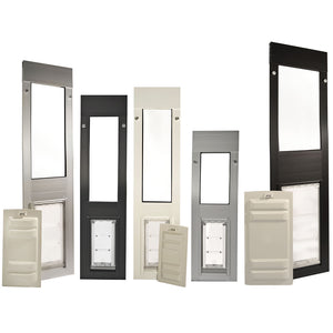 Endura dog or cat door for window color options - best window inserts