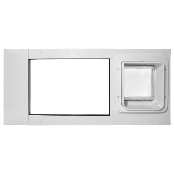 thermo sash 2e with sureFlap microchip pet door