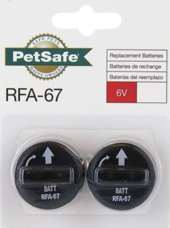Replacement batteries for the PetSafe SmartKey collars  needed for the Petsafe Smart Door.
