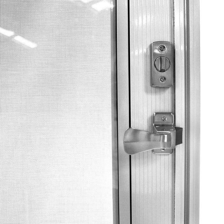 You can upgrade your hardware, such as the door handle, at an additional cost