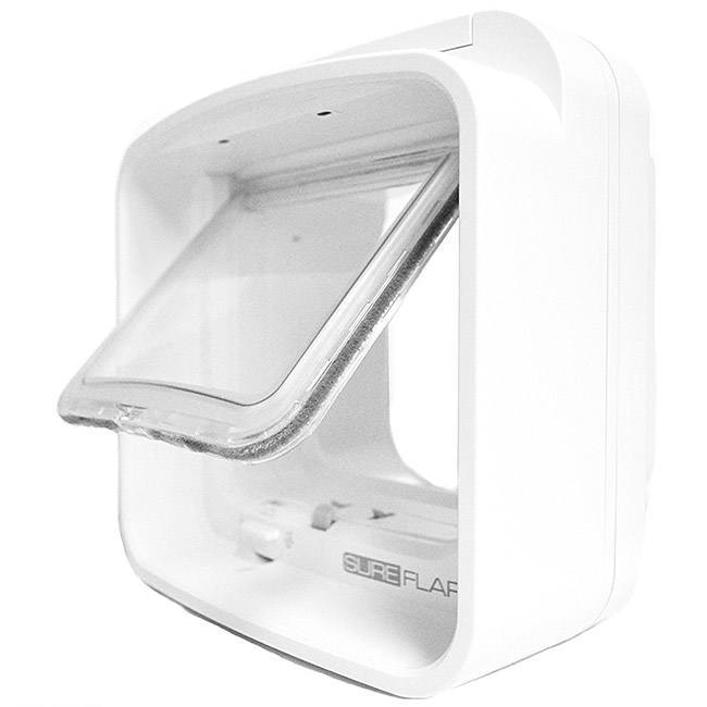 sureflap dualscan cat door with sensor - microchip pet door
