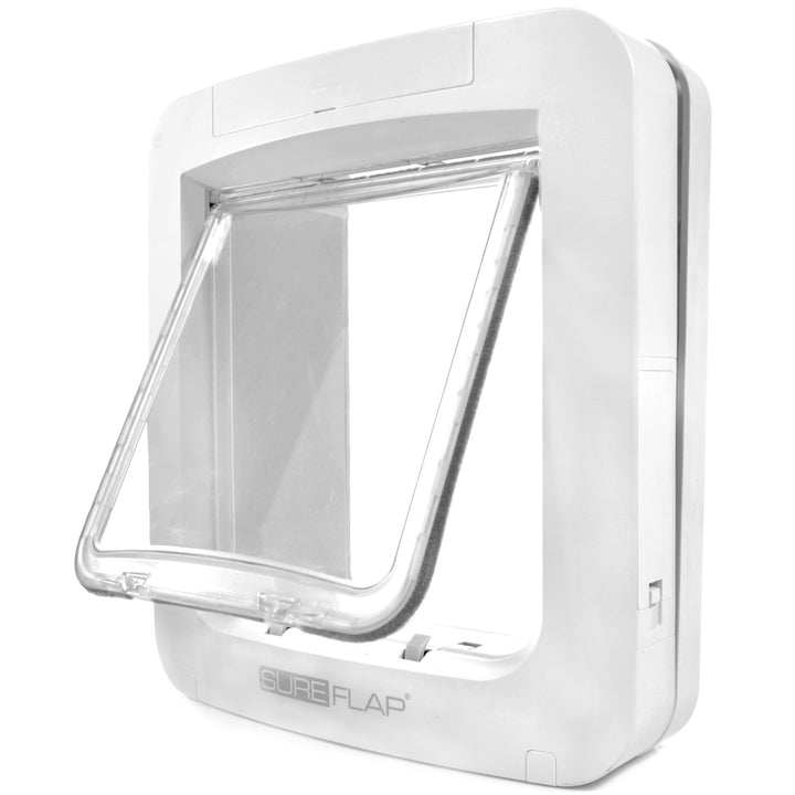 angled view sureflap app controlled dog door