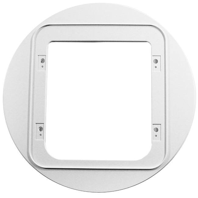 sureflap electronic cat door - cat door microchip installation in glass