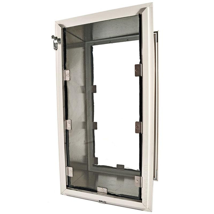 The Hale Pet doors comes in many options accommodate pets of all sizes.