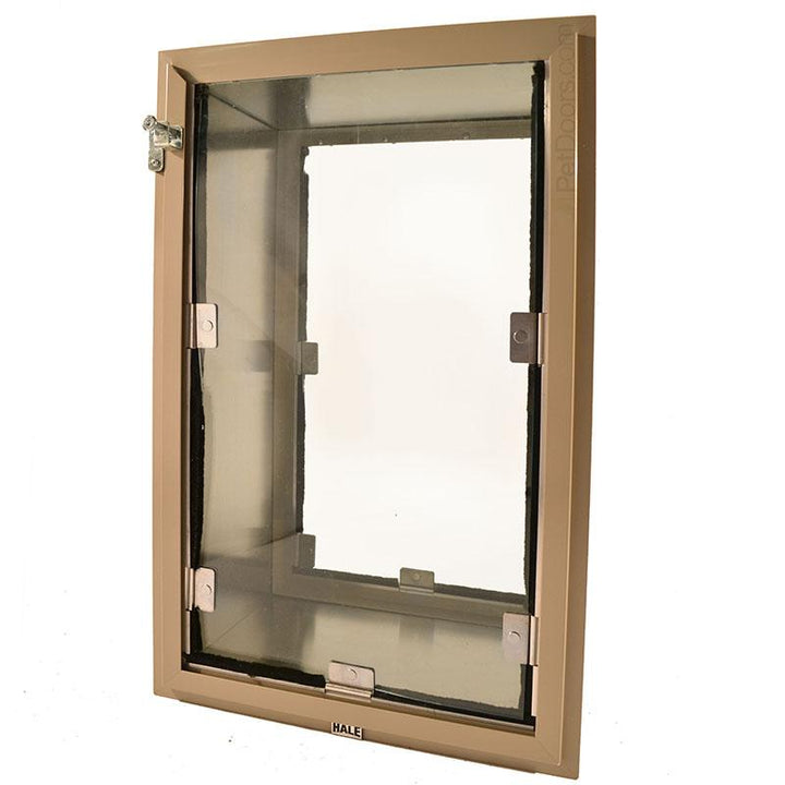 "Size Large, Tan Frame Color - comes with tunnel for 2"" to 10"", or for 2"" - 16"" thick walls."