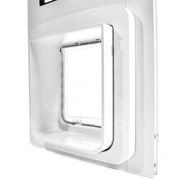 flap view Thermo Panel 2e with SureFlap Microchip Pet Door