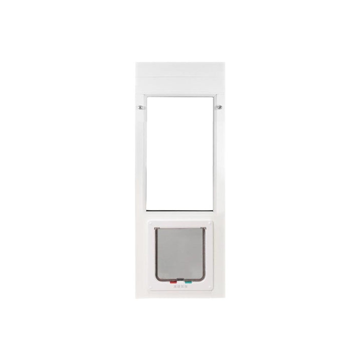The Whiskers & Windows Cat Door for Horizontal Sliding Windows is durable and corrosion resistant