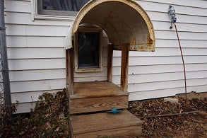 Pet Door Steps and Cover