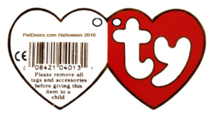 beanie baby tag template