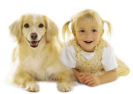 A girl with her dog - people who look like their dogs are funny and cute
