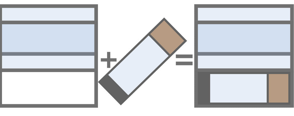 this is a diagram showing the dog door for slider windows