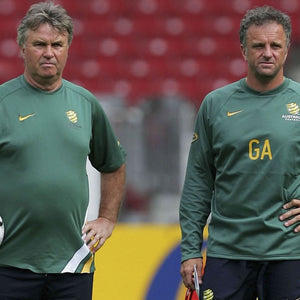 Graham Arnold & Guus Hiddink to Coach #FootballForFires