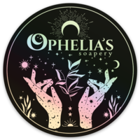 Holographic Ophelia's Sticker