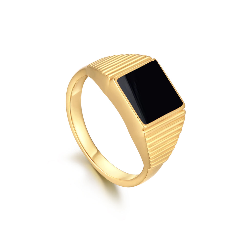 [PRE-SALE] Gold Square Signet Ring