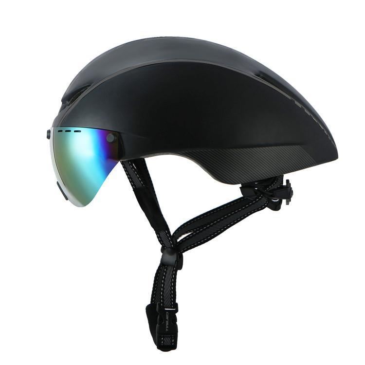 Aero Cycling Helmet with Magnetic Eye Shield - Air Volt