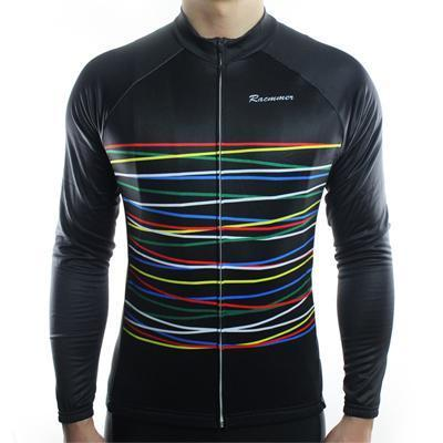DashStripe Thermal Fleece Jersey - Air Volt