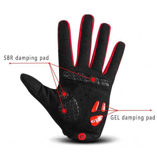 Mamba Shockproof Gloves - Air Volt