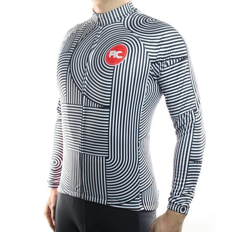 Roadie Thermal Fleece Jersey - Air Volt