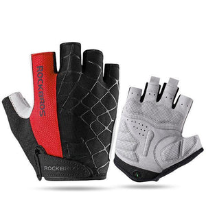 Spider Touch Half Finger Gloves - Air Volt