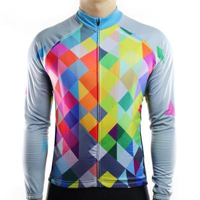 Rainbow Thermal Fleece Jersey - Air Volt