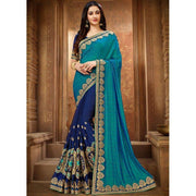 Perfervid Patch Border Art Silk Classic Designer Saree