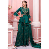 Teal Green Zardosi work Dresses