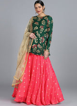 Bollywood Vogue Custom Made Pink Lehenga Set