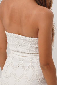 Capri Midi Lace Dress